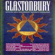 Click here for more info about 'Glastonbury - Glastonbury - 20th Anniversary Souvenir Programme'