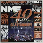 Click here for more info about 'Glastonbury - NME - Glastonbury Special 40th Anniversary Issue'