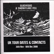 Click here for more info about 'Glasvegas - 2008 Winter Tour Itinerary'