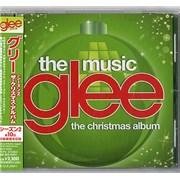 Glee Glee: The Music - The Christmas Album Japan CD album Promo