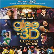 Glee The 3D Concert Movie UK Blu Ray