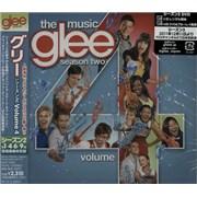 Glee The Music: Volume 4 Japan CD album Promo