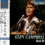 Click here for more info about 'Glen Campbell - Best 20 + Obi-strip'