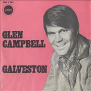 Click here for more info about 'Glen Campbell - Galveston - P/S'