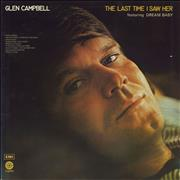 Click here for more info about 'Glen Campbell - The last Time I Saw Her'