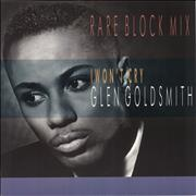 Click here for more info about 'Glen Goldsmith - I Won't Cry'