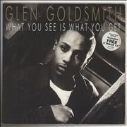 Click here for more info about 'Glen Goldsmith - What You See Is What You Get + 12
