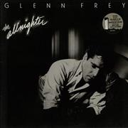 Click here for more info about 'Glenn Frey - The Allnighter - Stickered sleeve'