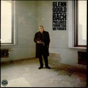 Glenn Gould Bach Preludes, Fughettas and Fugues - Factory sample USA vinyl LP