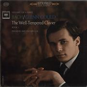 Glenn Gould The Well-Tempered Clavier, Book 1 / Preludes And Fugues 17-24 USA 3-LP vinyl set