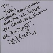 Glenn Hughes Pages From An Autograph Book UK memorabilia