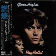 Glenn Hughes Play Me Out Japan vinyl LP Promo