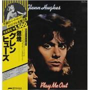 Glenn Hughes Play Me Out Japan vinyl LP