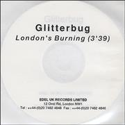 Click here for more info about 'Glitterbug - London's Burning'