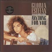Click here for more info about 'Gloria Estefan - Anything For You - Circular Hype Sticker'