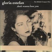 Click here for more info about 'Gloria Estefan - Don't Wanna Lose You - The Ballads'