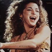 Click here for more info about 'Gloria Estefan - Get On Your Feet - Gatefold Calendar Sleeve'