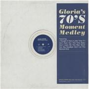 "Gloria Estefan The 70's Moment Medley UK 12"" vinyl Promo"