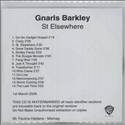 Click here for more info about 'Gnarls Barkley - St. Elsewhere'