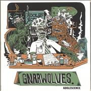 Click here for more info about 'Gnarwolves - Adolescence - Green Marble vinyl'