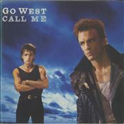 Click here for more info about 'Go West - Call Me - Poster Sleeve'