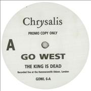 Click here for more info about 'Go West - The King Is Dead'