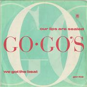Click here for more info about 'Go-Go's - Our Lips Are Sealed'