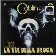 Click here for more info about 'Goblin - La Via Della Droga - RSD 16 - White Vinyl + Sealed'