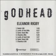Click here for more info about 'Godhead - Eleanor Rigby'