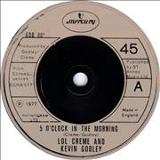 Click here for more info about 'Godley & Creme - 5 O'Clock In The Morning'
