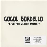 Click here for more info about 'Gogol Bordello - Live From Axis Mundi'