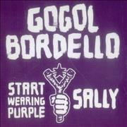 Click here for more info about 'Gogol Bordello - Sally / Start Wearing Purple'