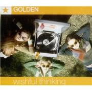 Golden Wishful Thinking UK CD single