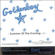 Goldenboy Summer Of The Evening UK CD-R acetate Promo