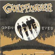 Click here for more info about 'Goldfinger - Open Your Eyes - Gold vinyl'