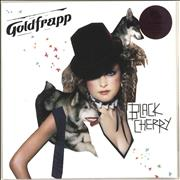 Click here for more info about 'Goldfrapp - Black Cherry - 140gm Purple Vinyl - Sealed'