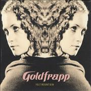 Click here for more info about 'Goldfrapp - Felt Mountain'