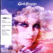 Click here for more info about 'Goldfrapp - Head First'