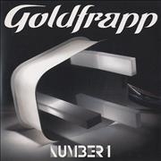 Click here for more info about 'Goldfrapp - Number 1'