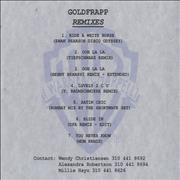 Click here for more info about 'Goldfrapp - Remixes'