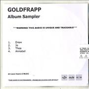 Click here for more info about 'Goldfrapp - Tales Of Us Album Sampler'