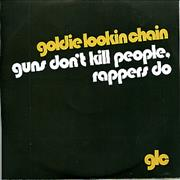 Click here for more info about 'Goldie Lookin' Chain - Guns Don't Kill People Rappers Do'
