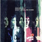 Goldrush Don't Bring Me Down UK CD album Promo
