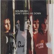 Goldrush Don't Bring Me Down Europe CD album