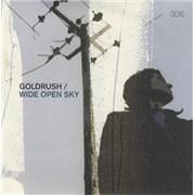 "Goldrush Wide Open Sky UK 7"" vinyl"