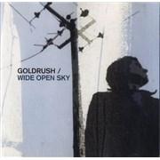 Goldrush Wide Open Sky UK CD single