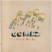 """Gomez Catch Me Up - Promo Stickered UK 7"""" vinyl"""