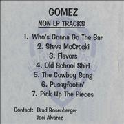 Click here for more info about 'Gomez - Non LP Tracks'