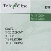 Click here for more info about 'Gomez - Ping One Down'