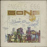 Click here for more info about 'Gong - Angel's Egg - 1st - Fully Autographed'